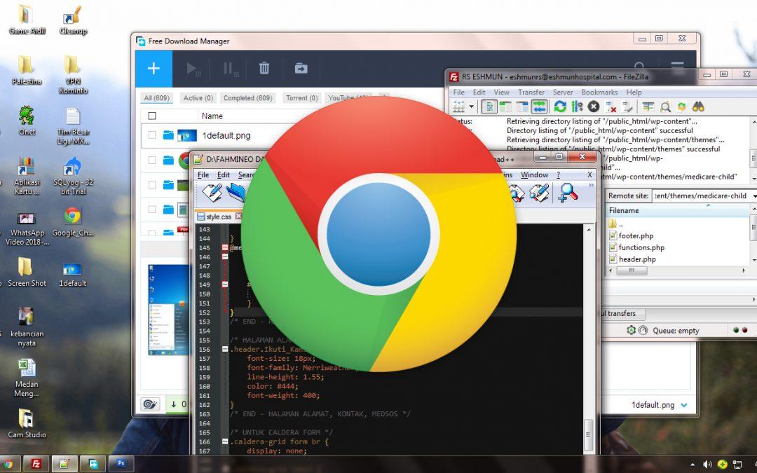 Kenapa Browser Chrome Selalu Berada di Atas