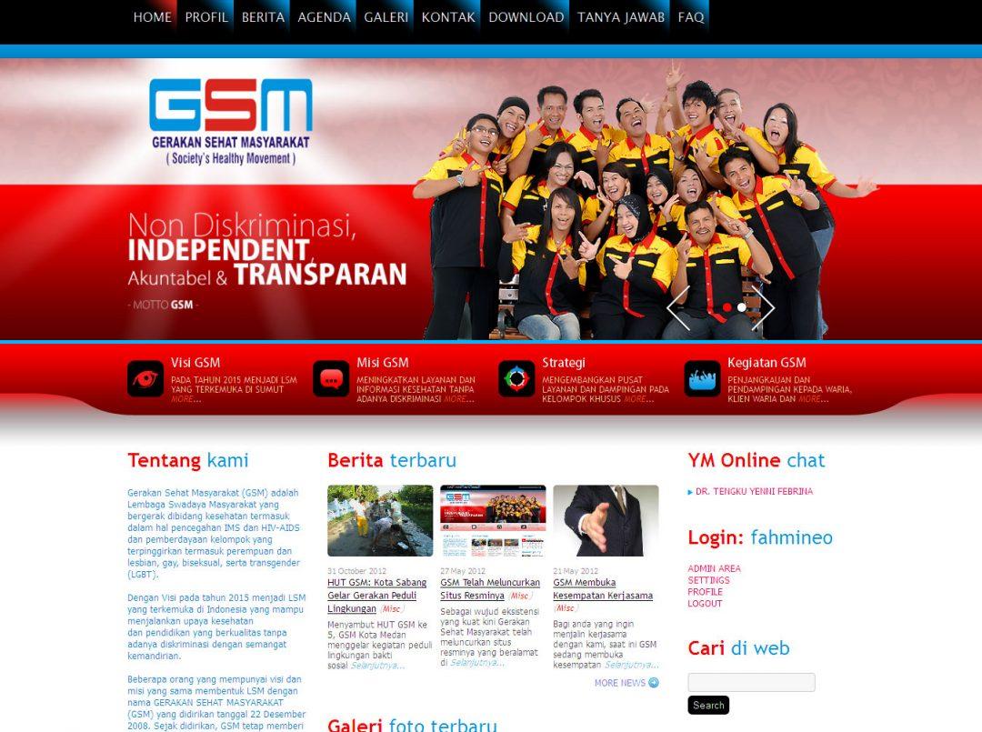 Gerakan Sehat Masyarakat (GSM)