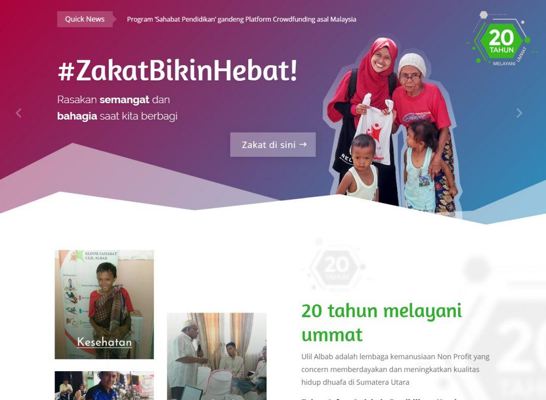 Project Bintangweb Website Ulil Albab versi 2019