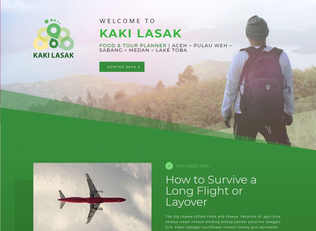 Project Bintangweb Website Kaki Lasak