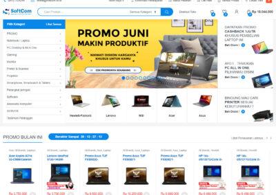 CV Softcom Medan: Toko Komputer & IT