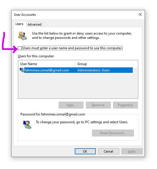 Cara Masuk Windows 10 Tanpa Login Password