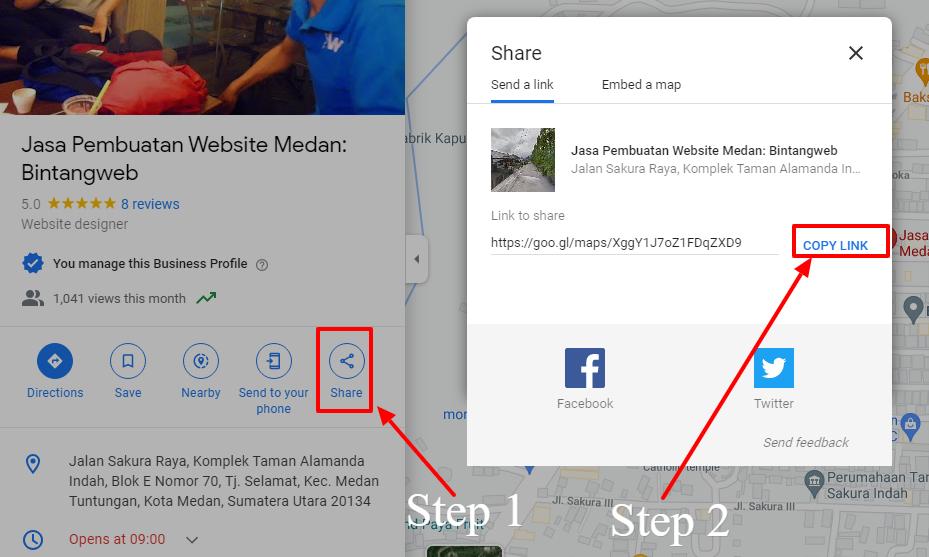 Cara Mengambil Link Lokasi di Google Maps